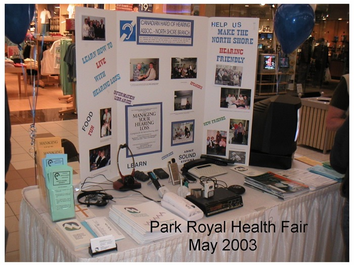 Park Royal Health Fair 2003